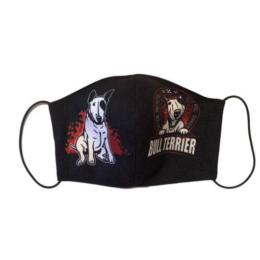 Bull Terrier kutyás szájmaszk